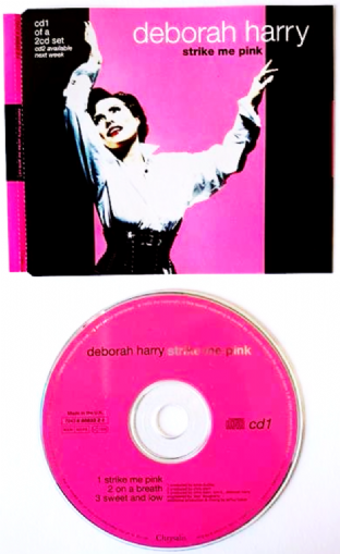 Deborah Harry - Strike Me Pink (CD Single Pt 1) (VG/VG)